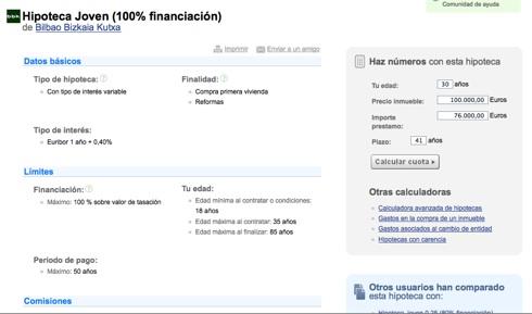 Bankimia Ficha hipoteca