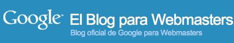 Blog oficial para Webmasters de Google