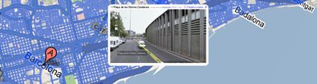Google 3d barcelona