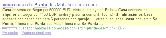 Longitud descripcion SERPs Google